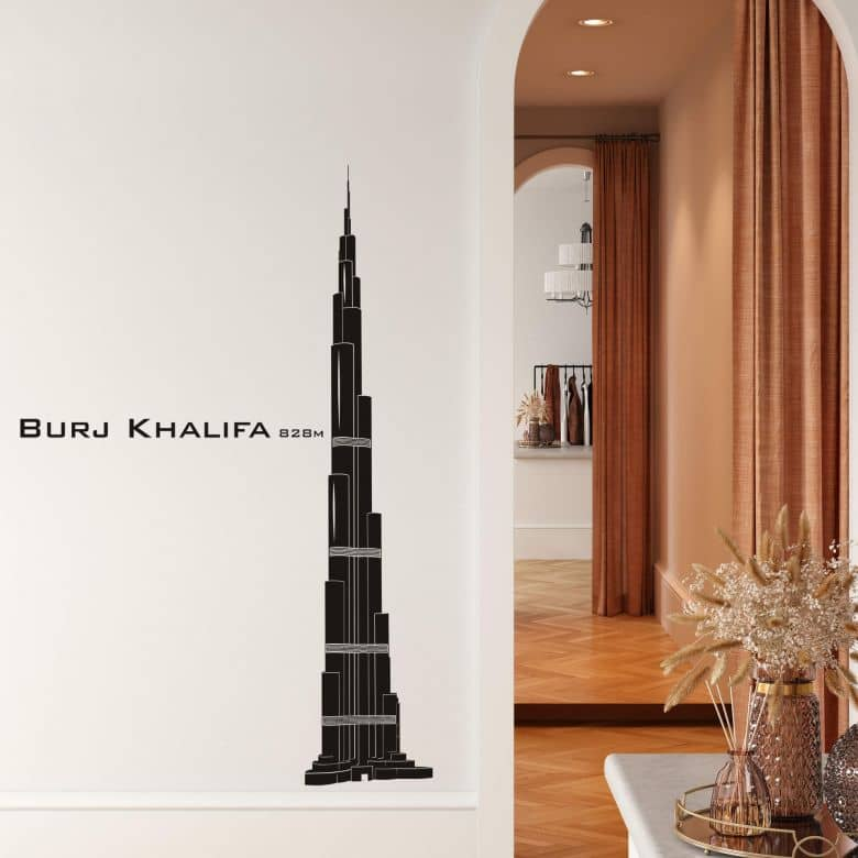 Sticker mural - Burj Khalifa