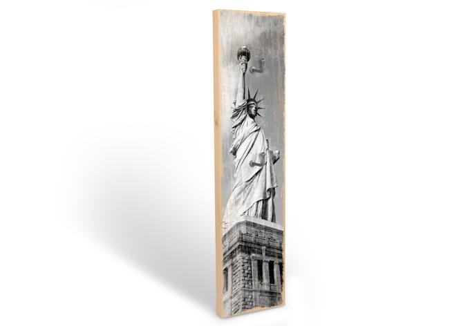 Accroche-clés -Lady Liberty + 3 crochets