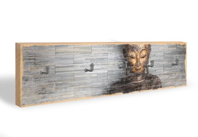 Schlüsselbrett Thailand Buddha + 5 Haken