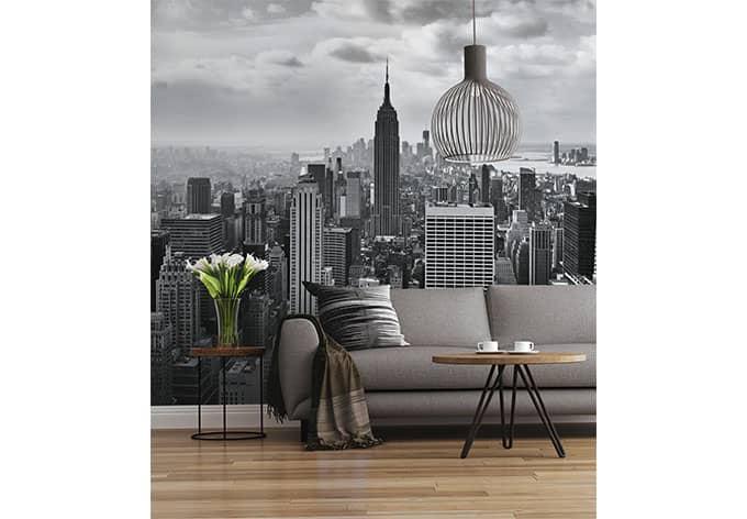 Fototapete Papiertapete NYC Black And White