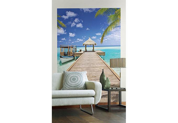 Fototapete Vliestapete Beach Resort XXL