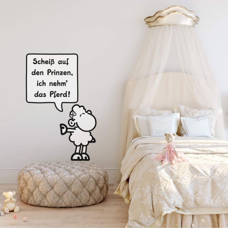 Wandtattoo sheepworld Worthelden Prinz