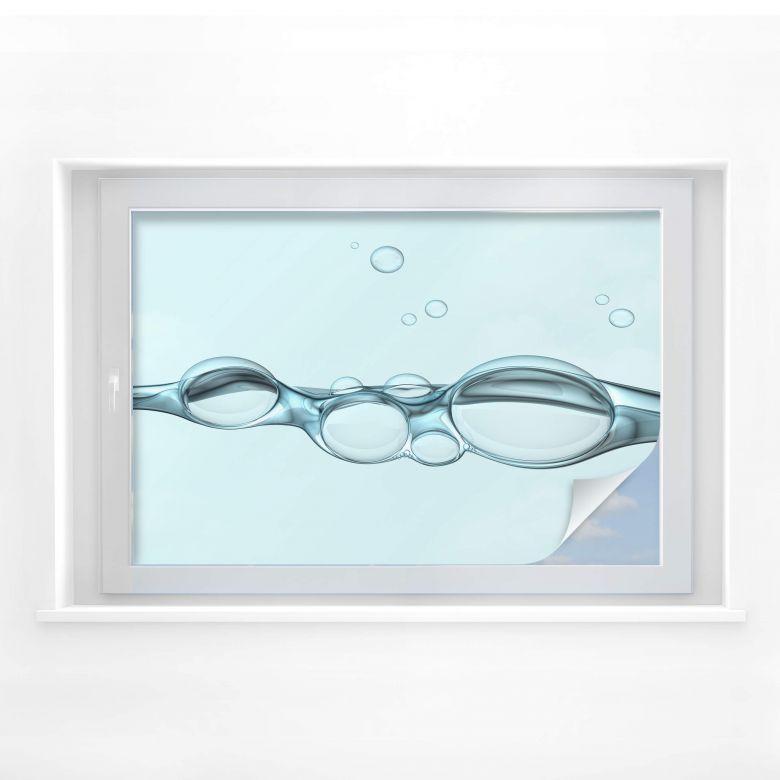 Sichtschutzfolie Bubbles