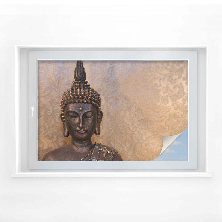Sichtschutzfolie Buddha der Weise