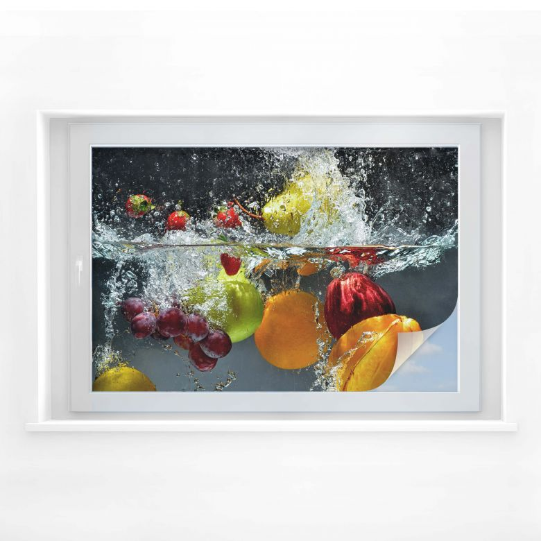 Sichtschutzfolie Erfrischendes Obst