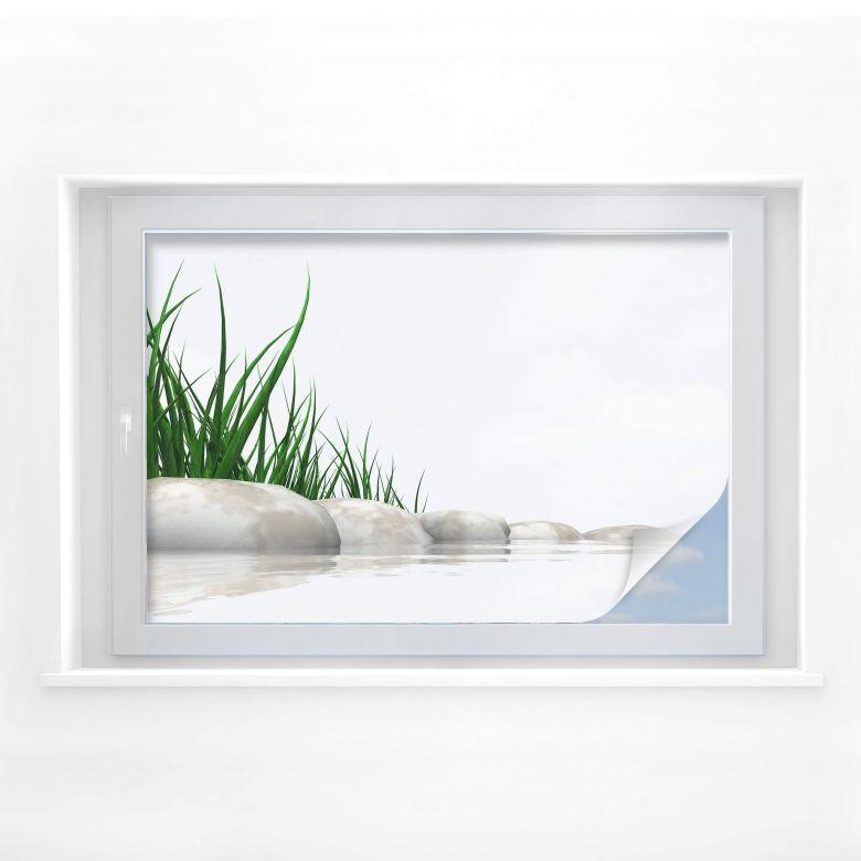 Window foil Bank