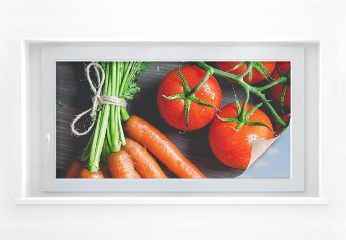 Sichtschutzfolie Fresh Cooking - Panorama