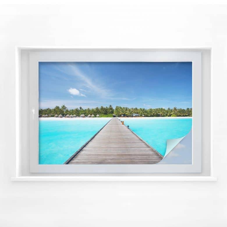 Sichtschutzfolie Karibik