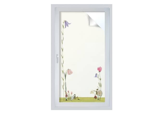 Sichtschutzfolie Leffler - Blütenschnecke