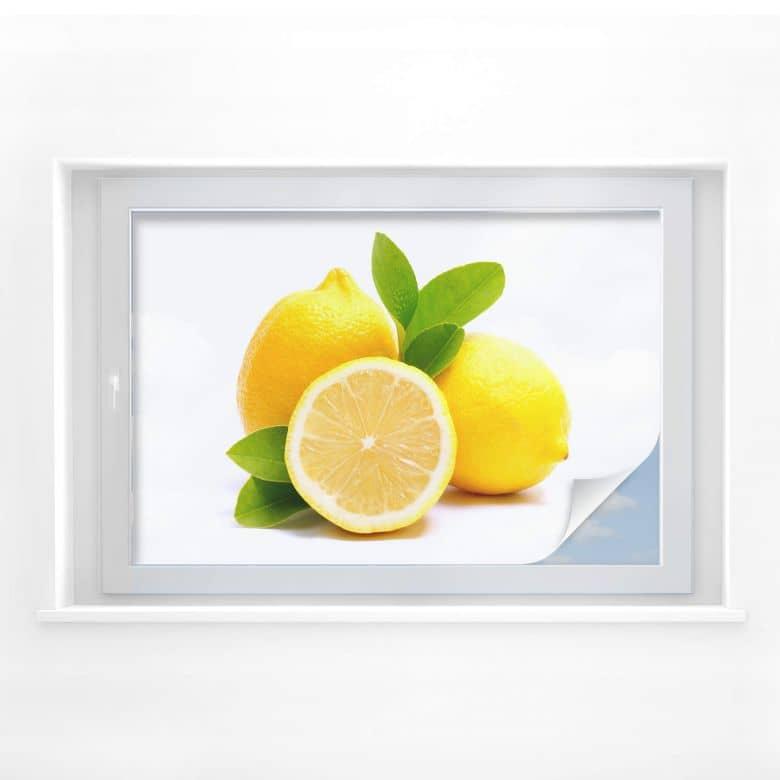 Window foil Lemons