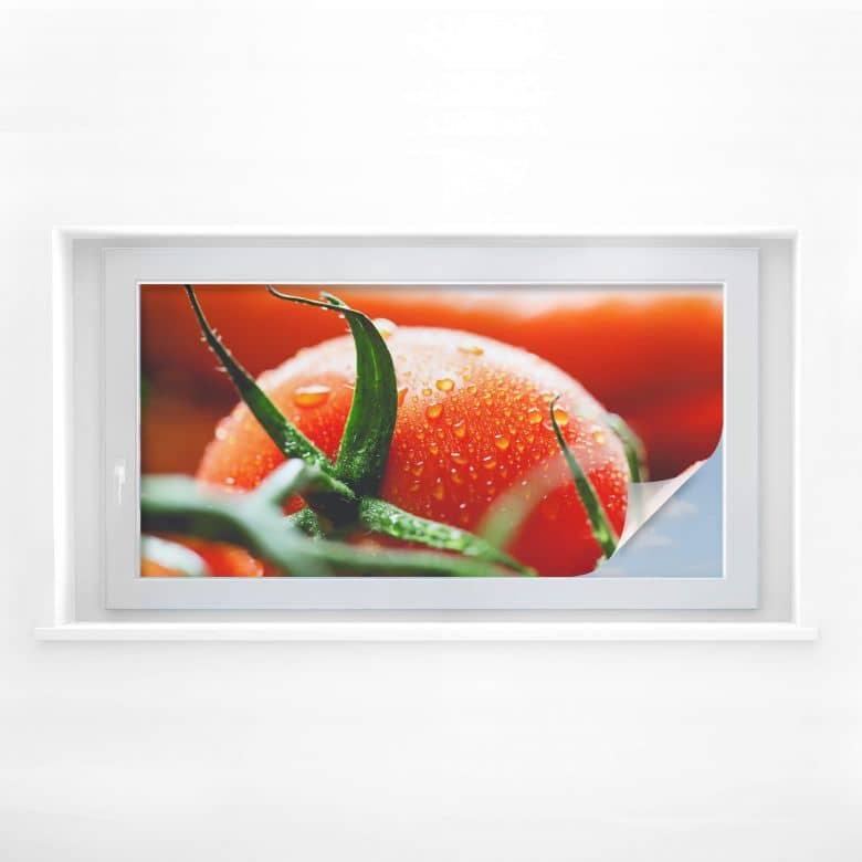 Sichtschutzfolie Fresh Tomato - Panorama