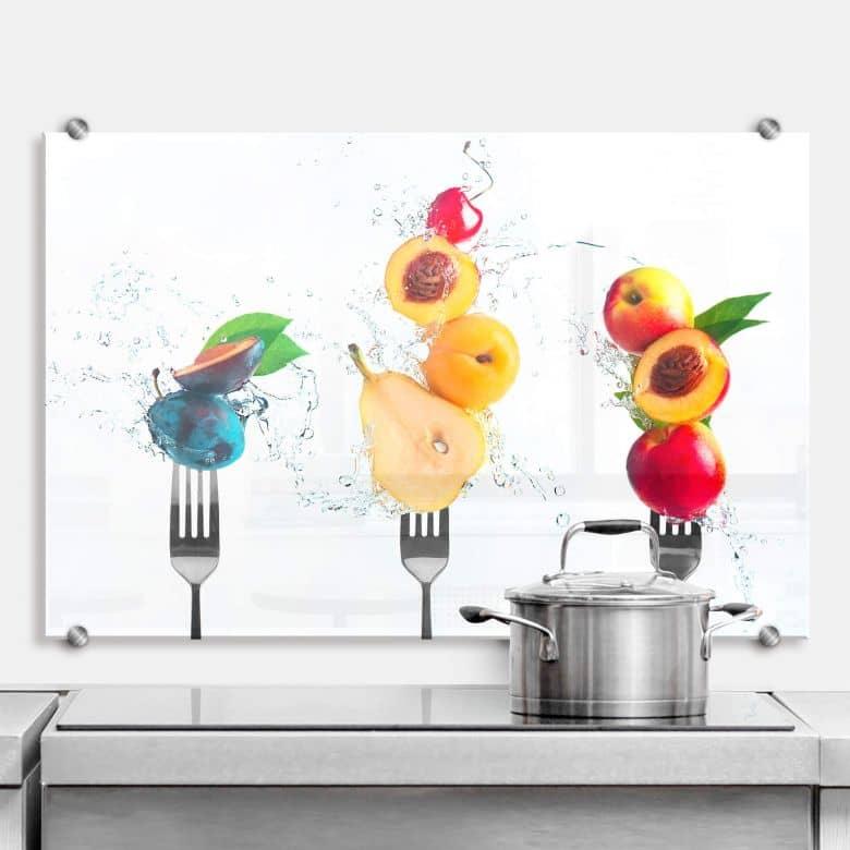 Spritzschutz Belenko - Splashing Fruits