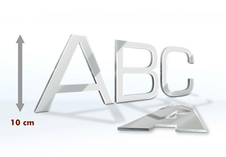 Decorative Letters Mirror 10 cm