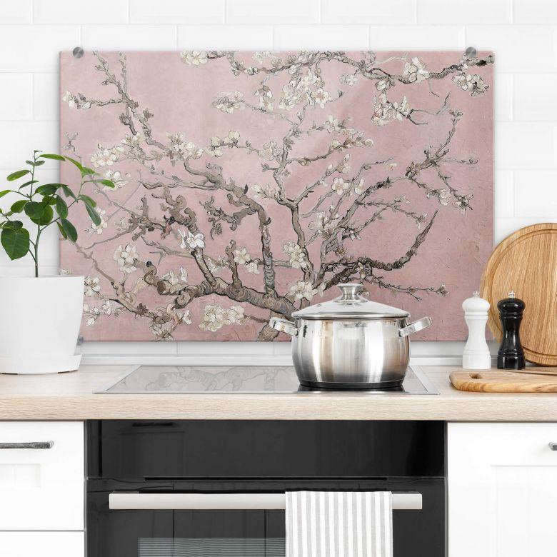 Crédence van Gogh - Amandier en fleurs