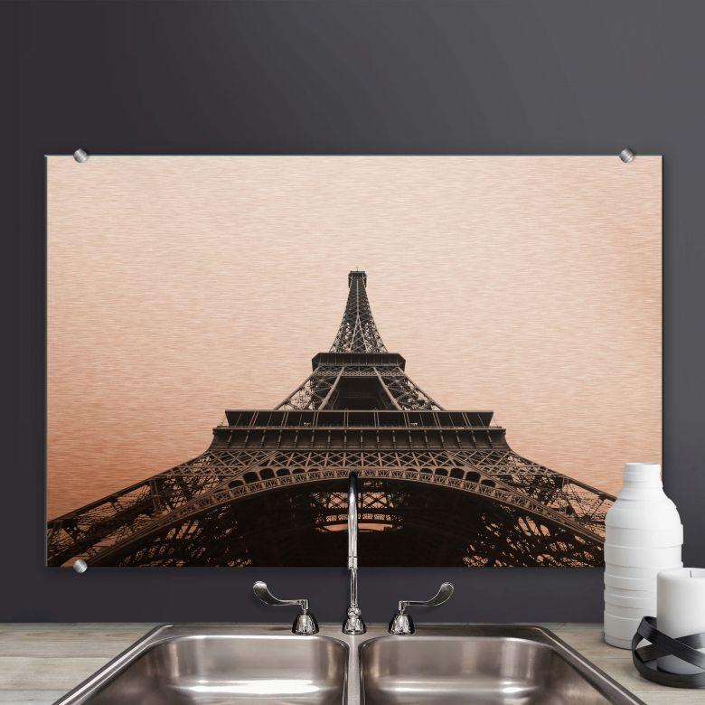 Spritzschutz Eiffel Tower