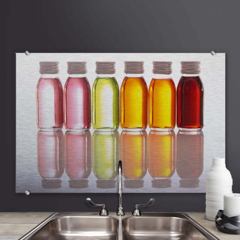 Spritzschutz Oil Bottles