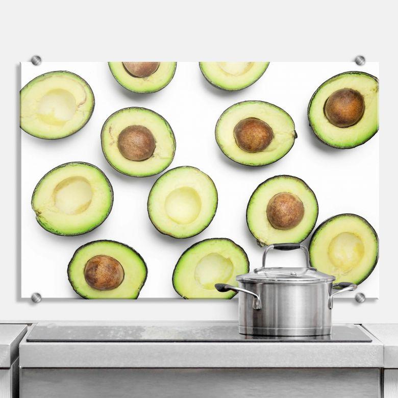Spritzschutz Avocados