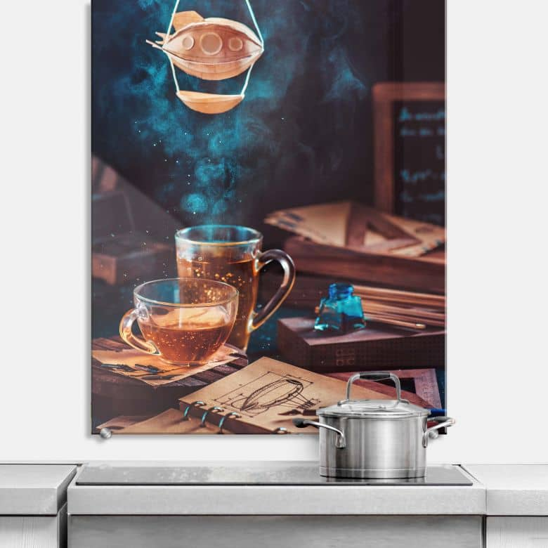 Spritzschutz Belenko - Steampunk Tea 01