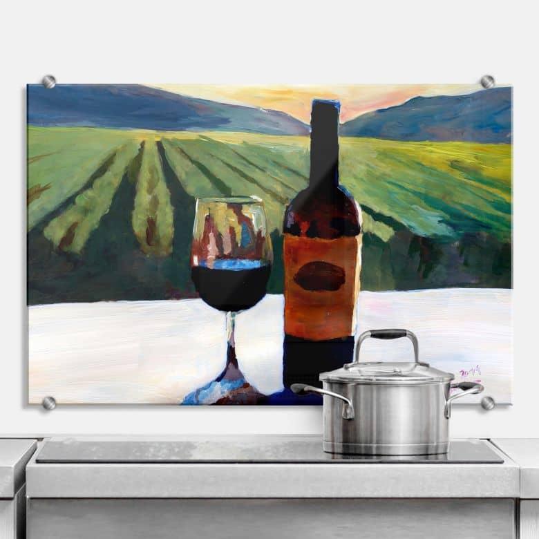 Spritzschutz Bleichner - Wein in Napa Valley