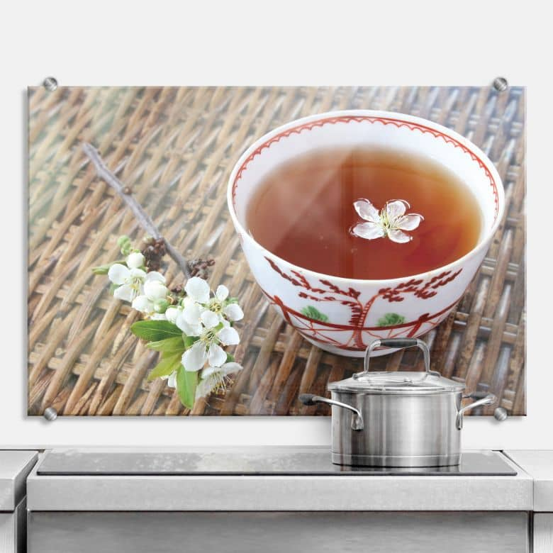 Spritzschutz Teatime