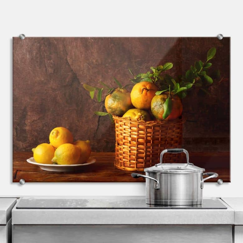 Laercio - Farmers Lemons - Kitchen Splashback