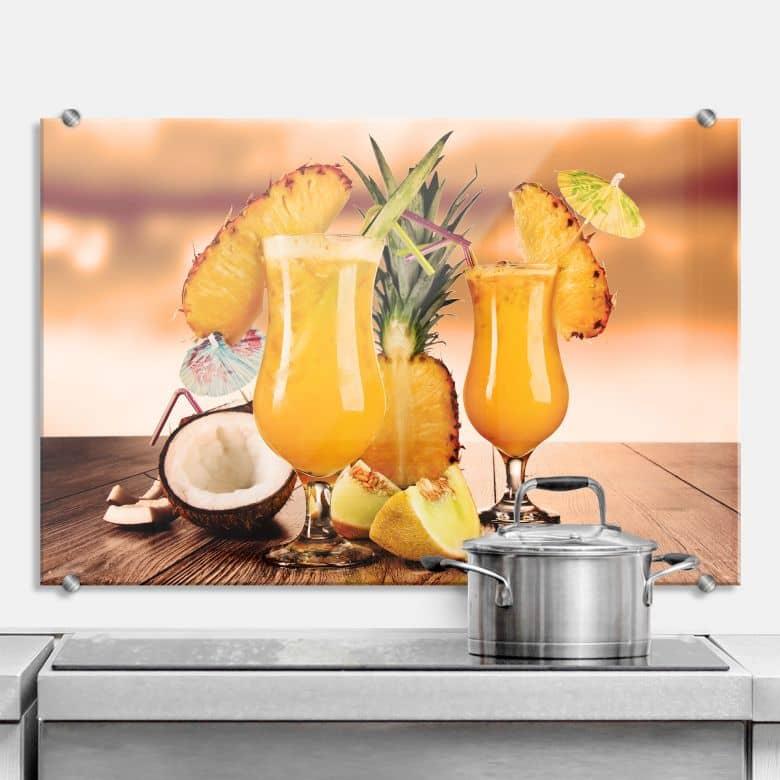 Cocktail Time - Kitchen Splashback