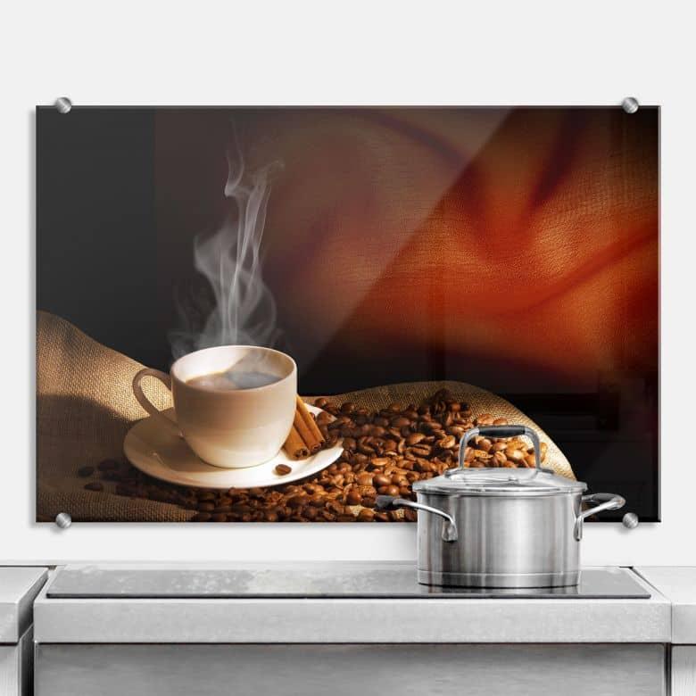 Spritzschutz Coffee 3