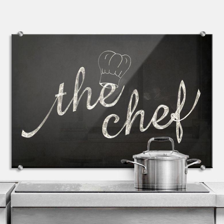 The Chef - Kitchen Splashback