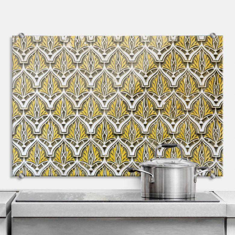pannello paraschizzi muro marocchino 02. Black Bedroom Furniture Sets. Home Design Ideas