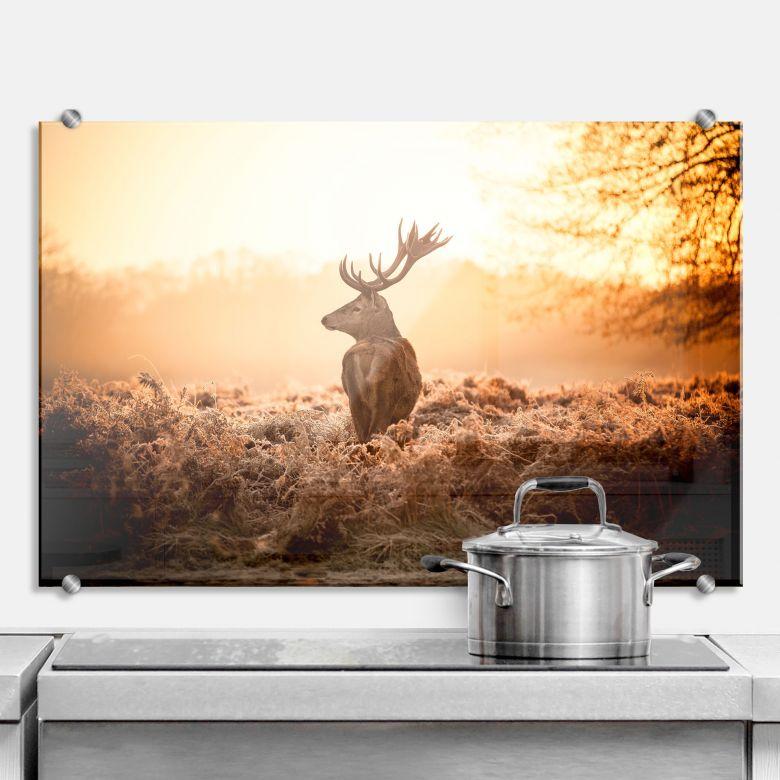 Majestic Deer - Kitchen Splashback