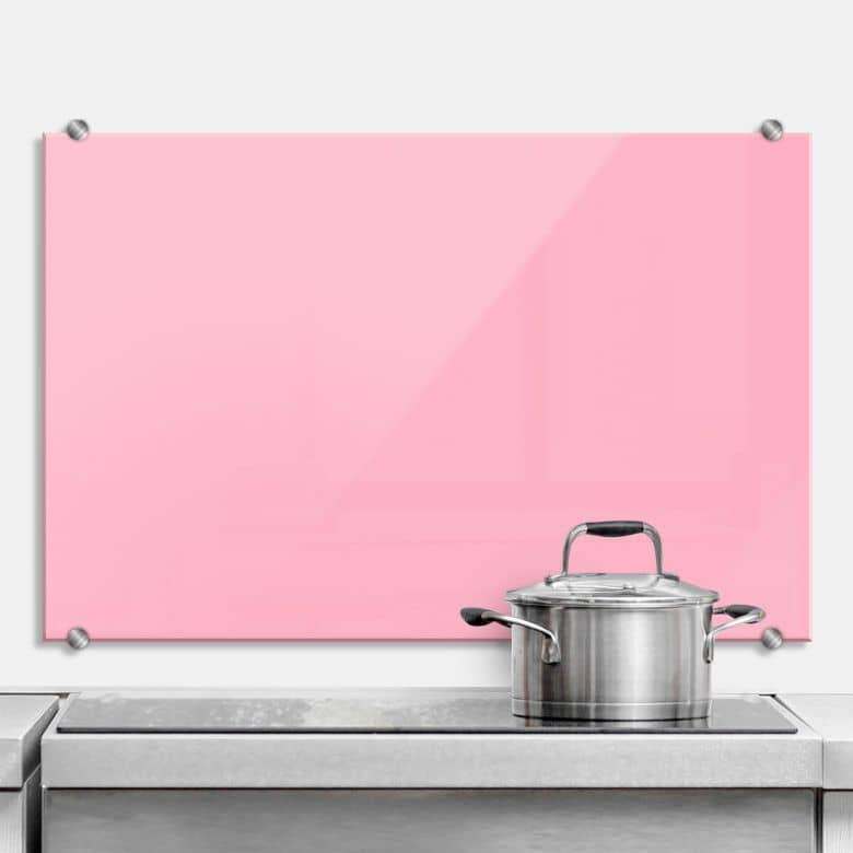 Spritzschutz Pink