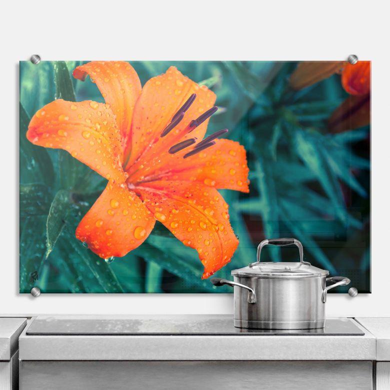 Spritzschutz Tropical Lily