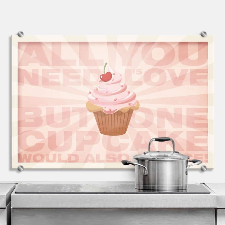 All you need is love 02 - Kitchen Splashback
