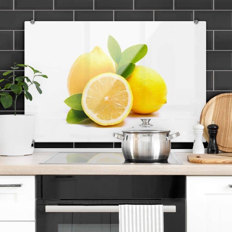 Lemons - Kitchen Splashback