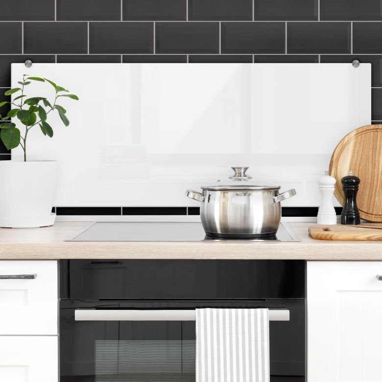 Splashback White – panorama