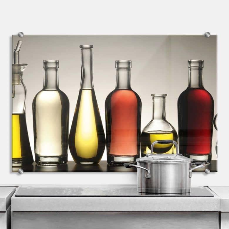 Olio e Aceto - Kitchen Splashback