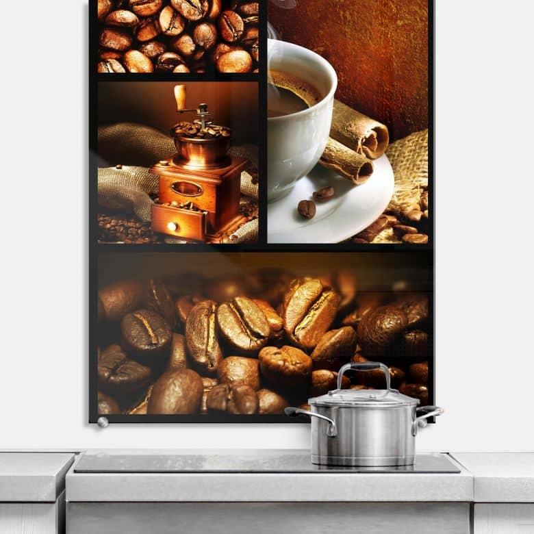 Crédence Enjoy Coffee - format portrait
