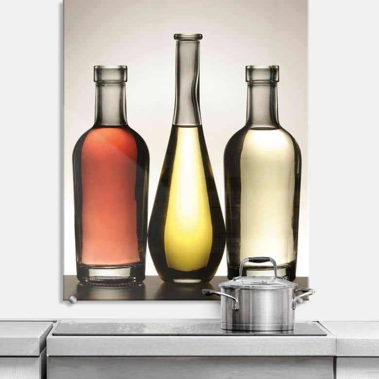 Spritzschutz Olio et Aceto - hochkant