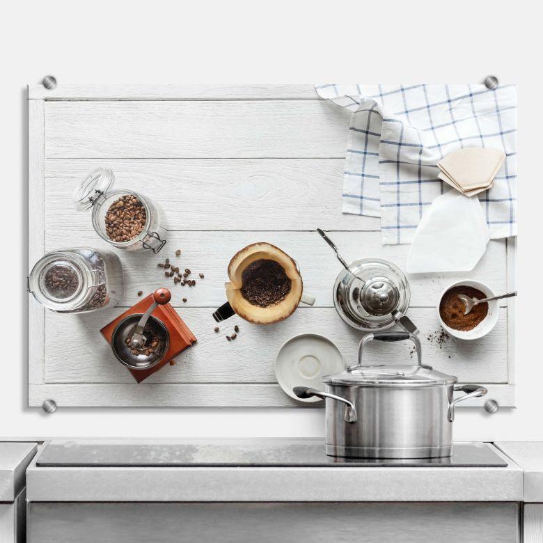 Spritzschutz Kaffeepause 02