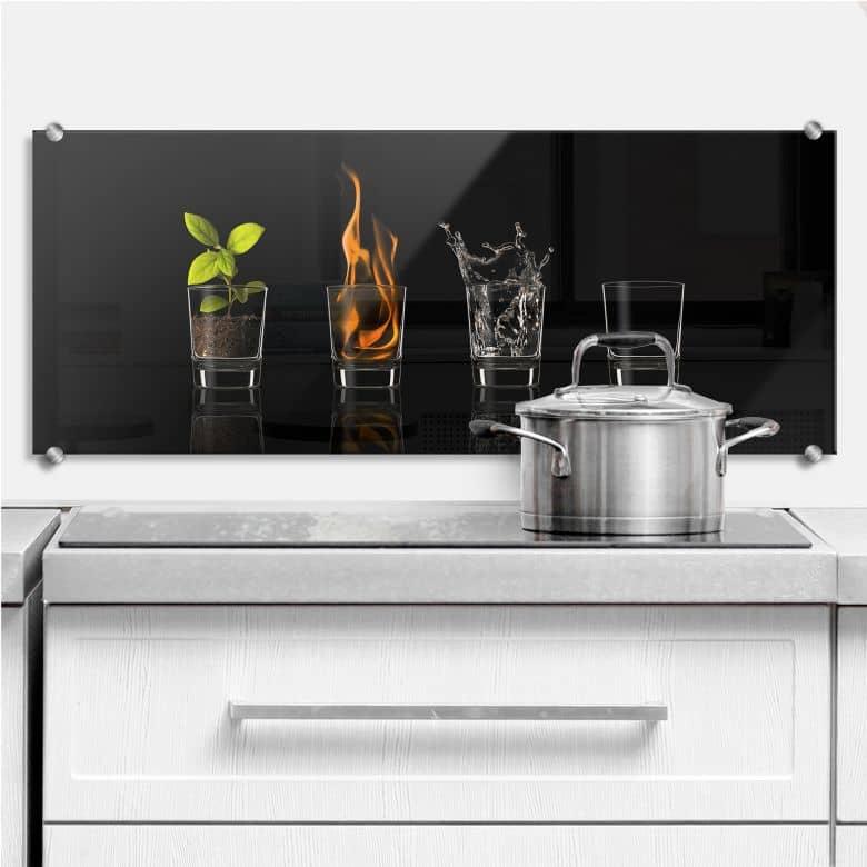 Frutos Vargas - The Four Elements - Panorama - Kitchen Splashback