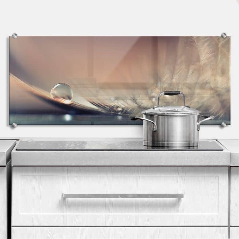 Dmitry - Story of a Waterdrop - Panorama - Kitchen Splashback