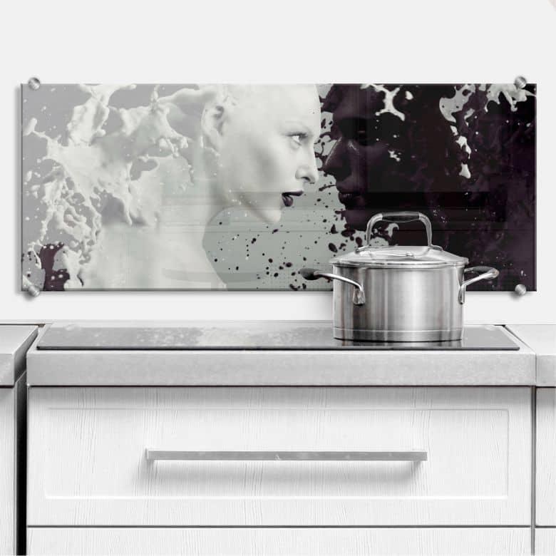 Milk & Coffee - Panorama - Kitchen Splashback