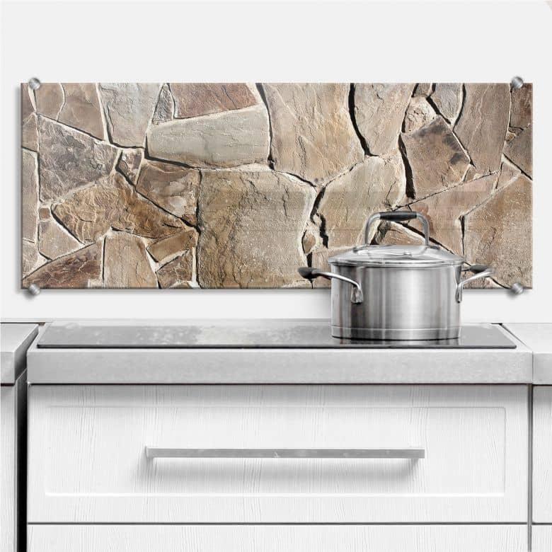 Mediterranean Wall - Panorama - Kitchen Splashback