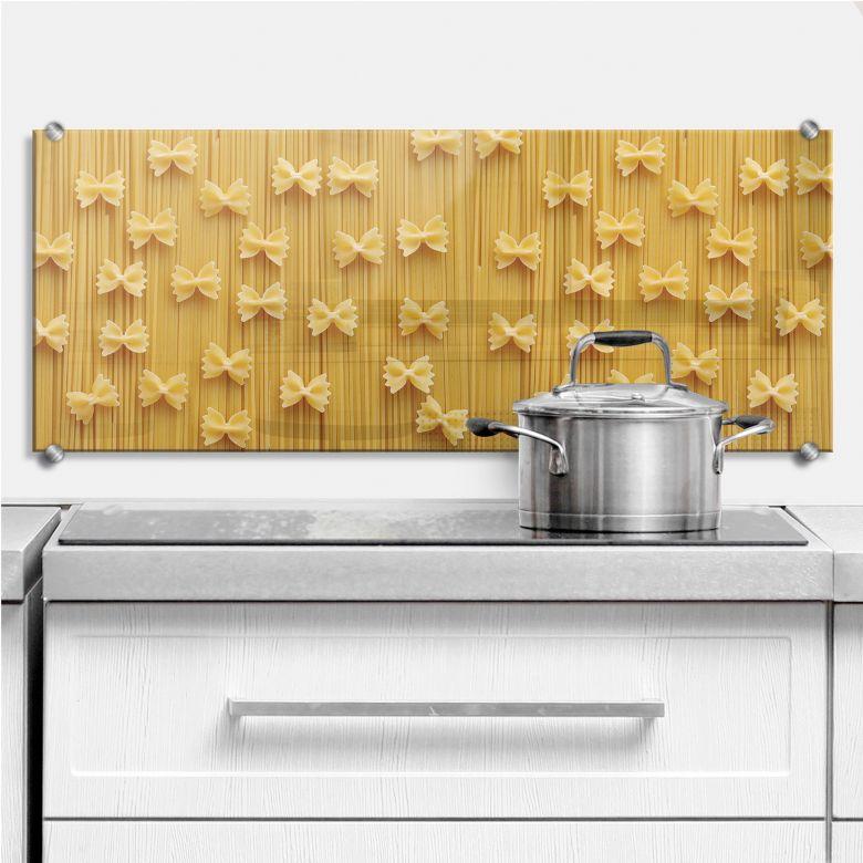 Spritzschutz Spaghetti und Nudelschleifen - Panora