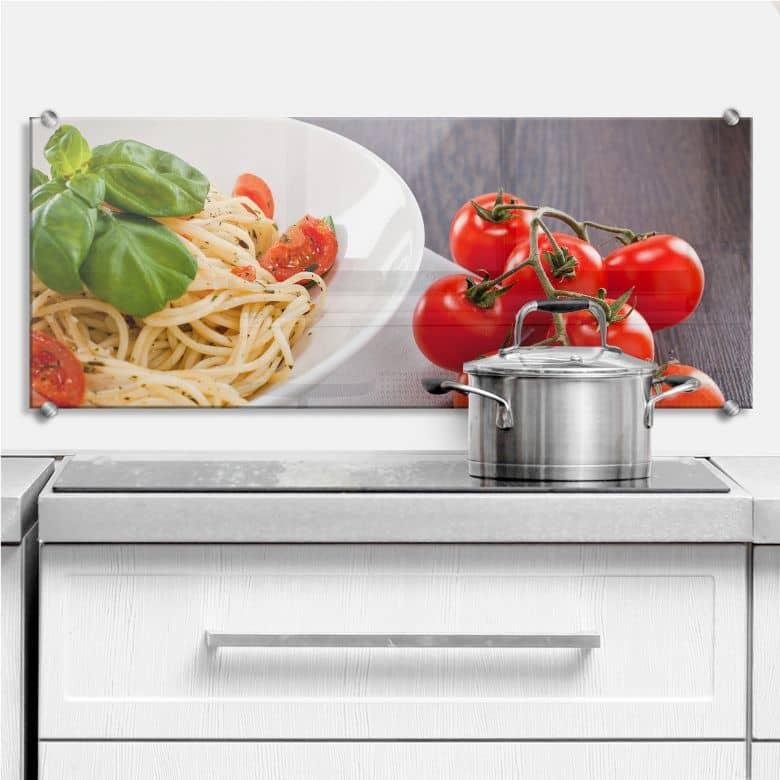 Pasta Italiano - Panorama - Kitchen Splashback