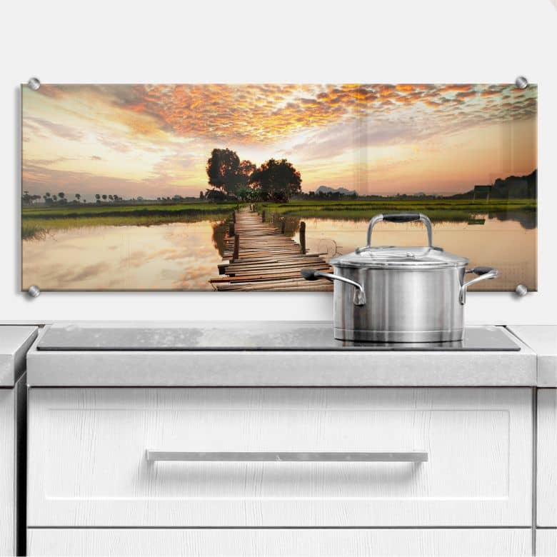 To the other Side - Panorama - Kitchen Splashback
