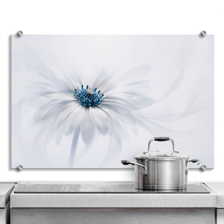 Spritzschutz Parker - Frozen Flower