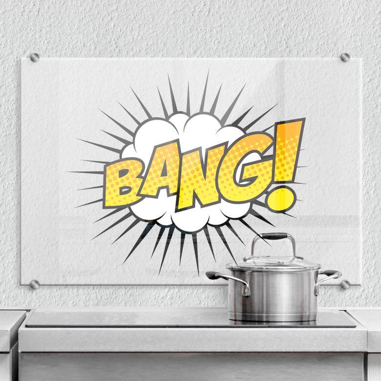 Splashback Bang – Comic