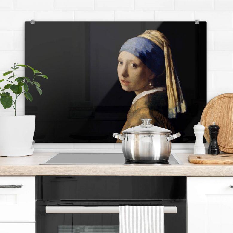 Spatscherm Vermeer - Meisje met de Parel