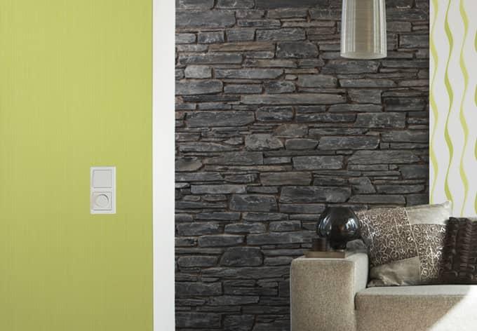 Brigitte Home Non-woven Wallpaper Green